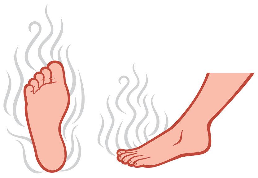 zinc stinky feet