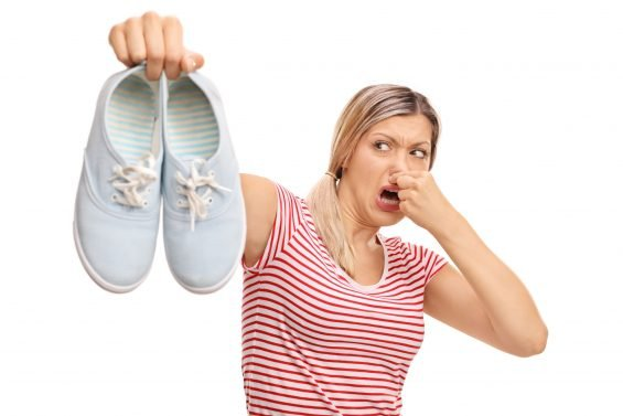 How To De-Stink Your Smelly Shoes (and save face!)