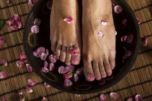 how to soothe sore feet from standing all day | DermalMedix